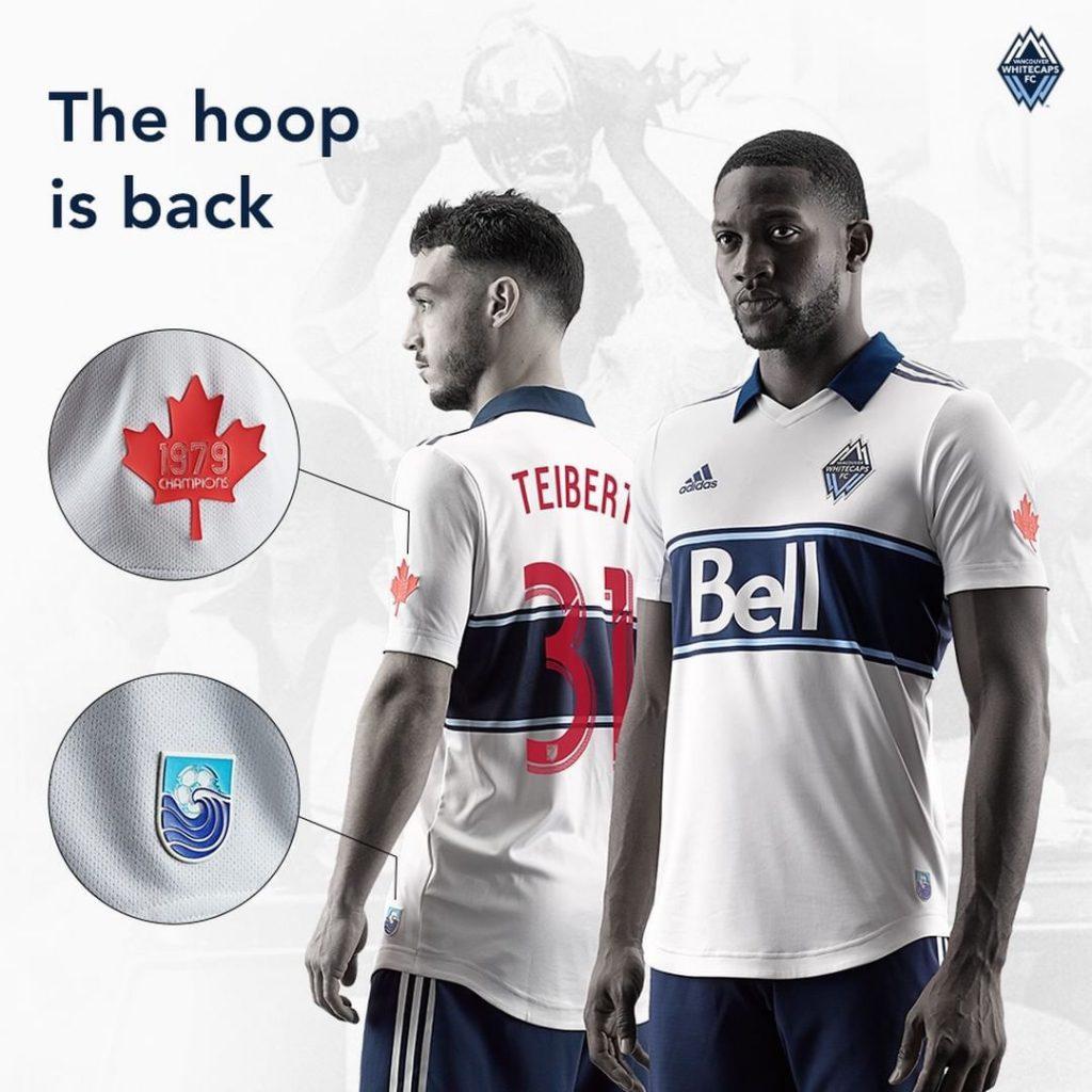 d06187ab7 Vancouver Whitecaps FC 2019 Adidas Home Kit
