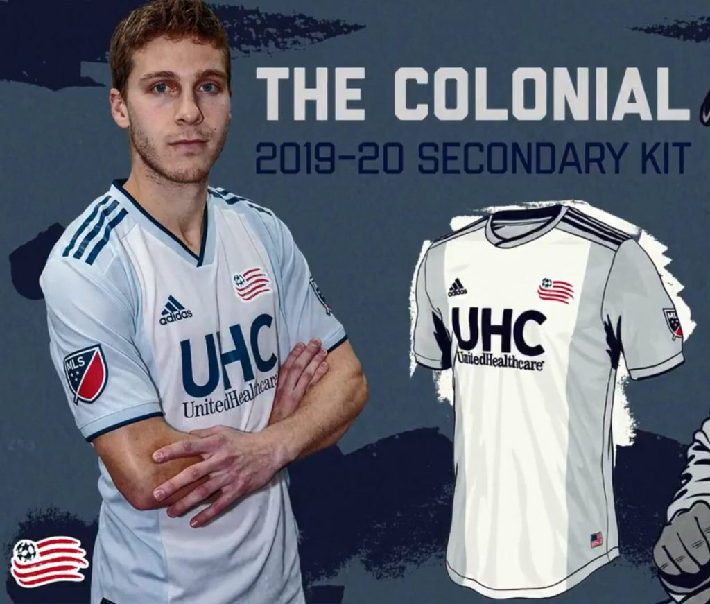 ab54b53e8c2 New England Revolution 2019-20 Away Kit Revealed | The Kitman