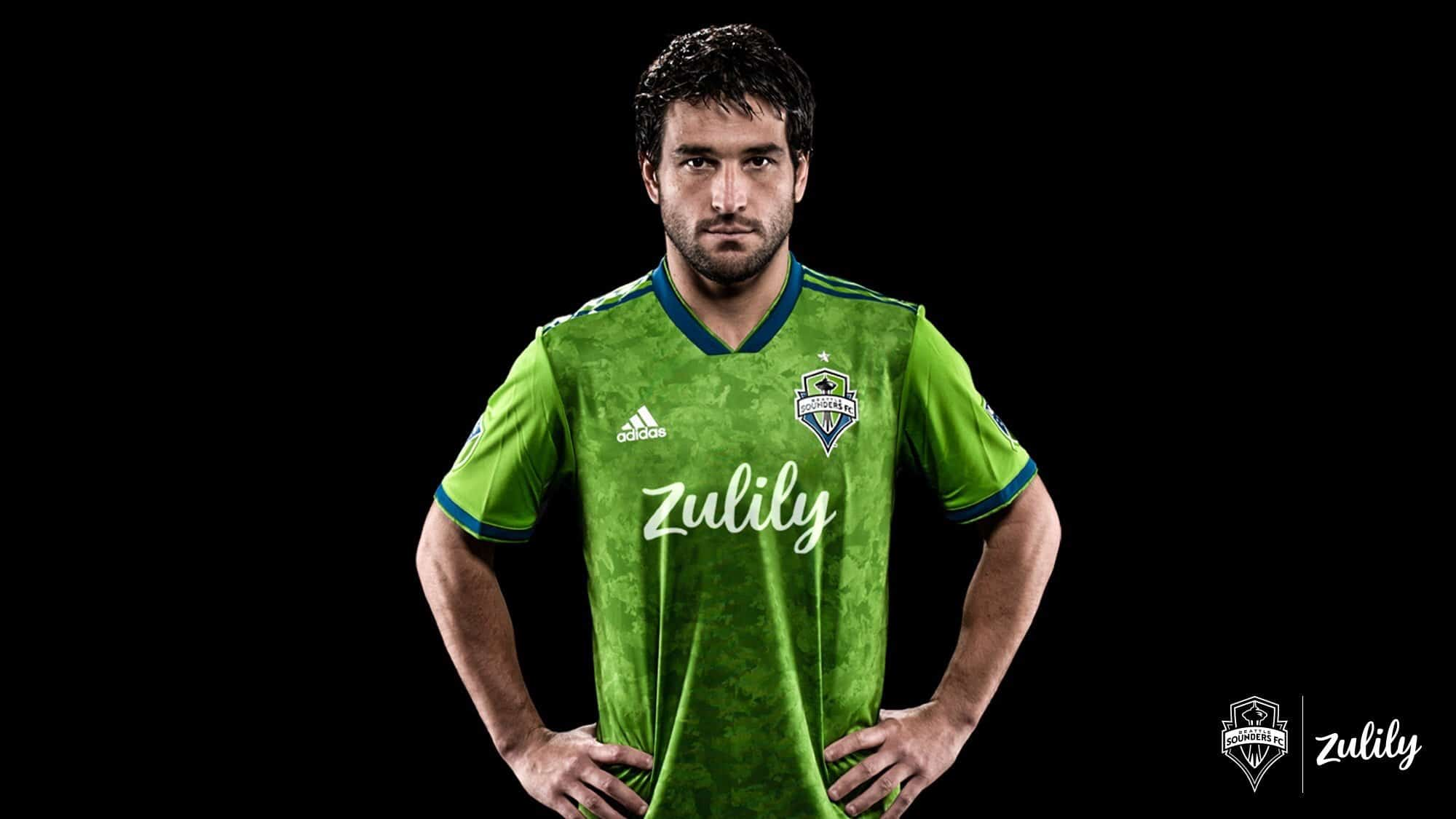 hot sale online bd5a8 edd67 Seattle Sounders 2019 Home Kit Revealed | The Kitman