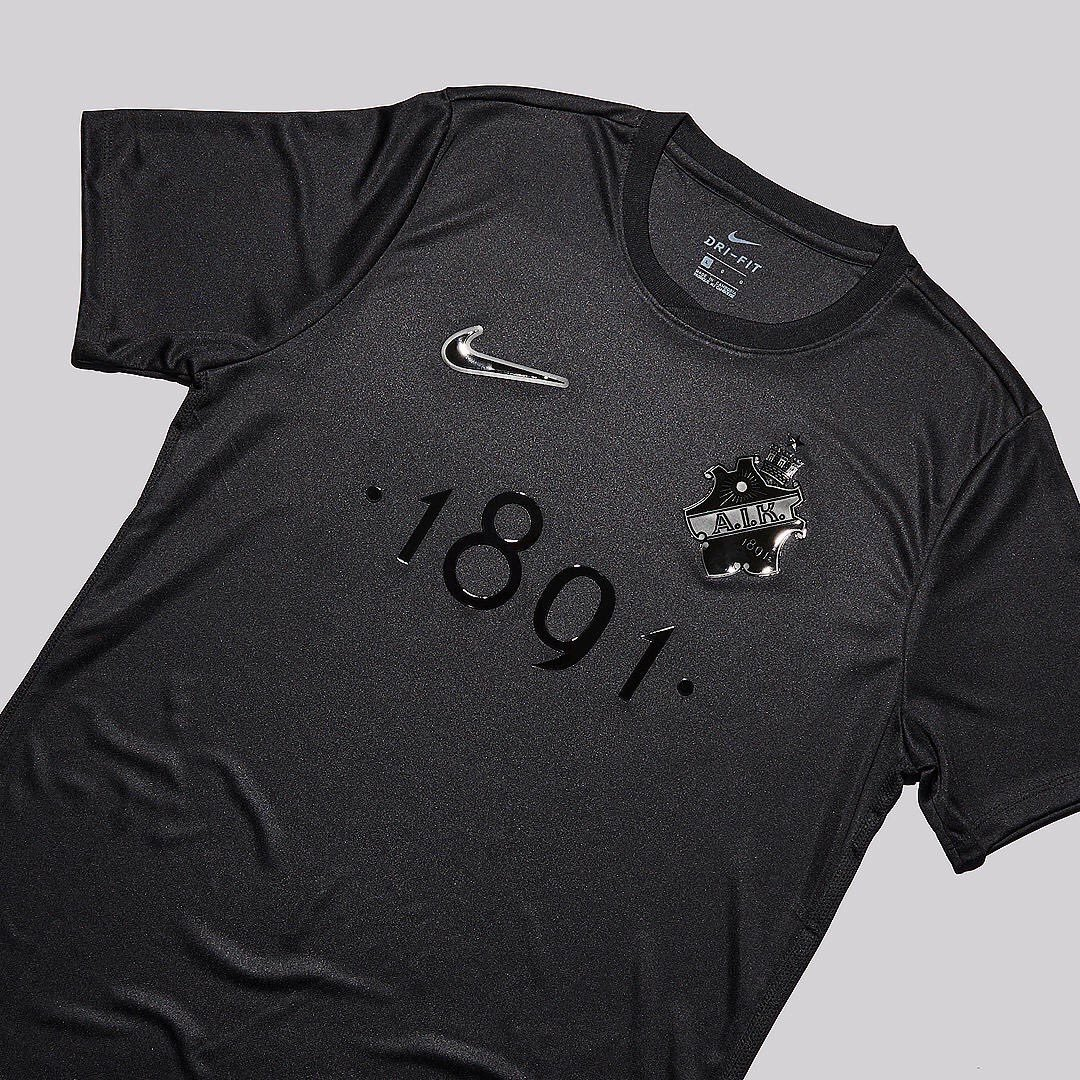 AIK 1891 'Black Edition' Jersey Made By