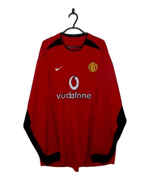 2002-04 Manchester United Home Shirt L/S