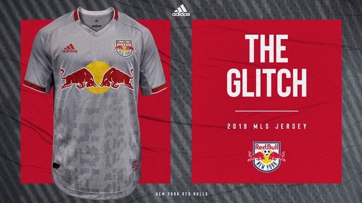 ef11a4ee8 New York Red Bulls Glitch Kit 2019 Revealed