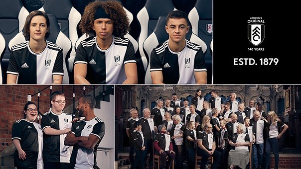 011020df2e8 Fulham 140th Anniversary Shirt Revealed