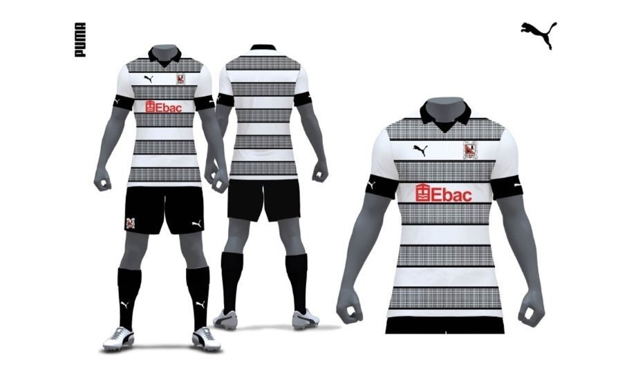 Darlington FC 2019-20 Home Kit Vote
