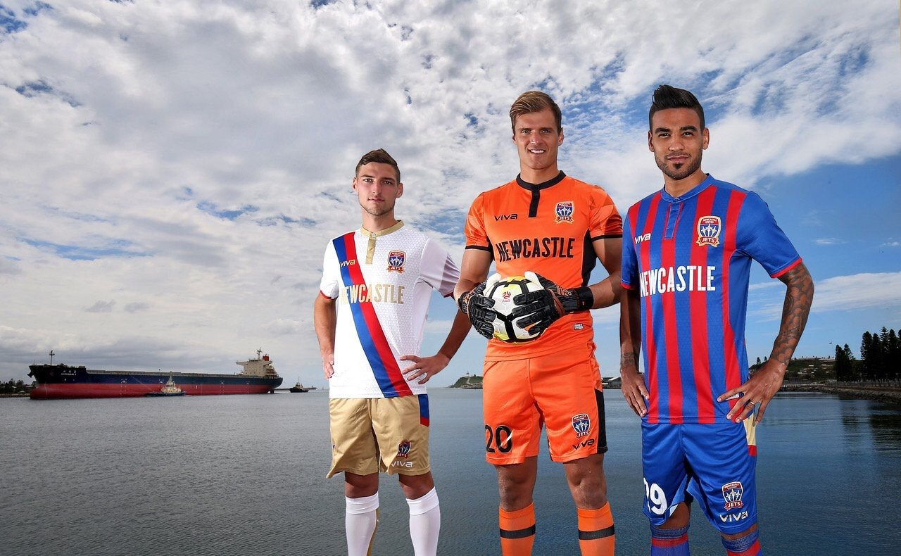1d31727ecf6 Soccer news from the Hyundai A-League now as the Newcastle Jets 2019 kits  made by Viva Teamwear have been officially revealed.