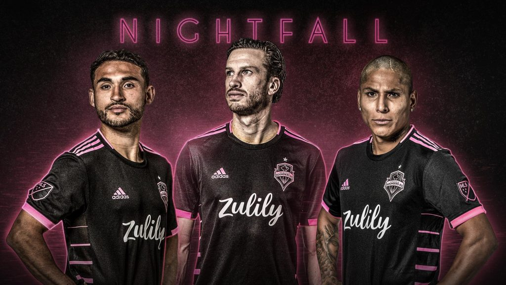 Seattle Sounders 2019 Nightfall Kit Released  b07a0fc21