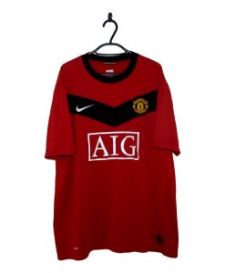 c204a289e6d 2009-10 Manchester United Home Shirt (XL)