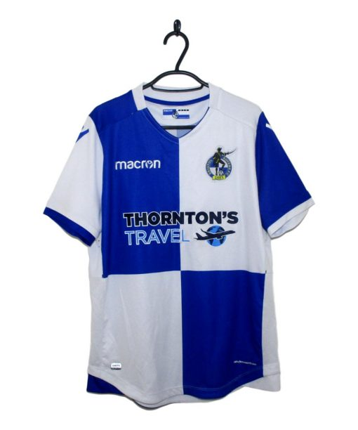 2017-18 Bristol Rovers Home Shirt