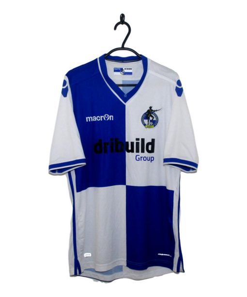 2016-17 Bristol Rovers Home Shirt