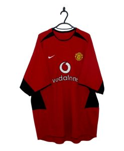 aadc3a695 2002-04 Manchester United Home Shirt