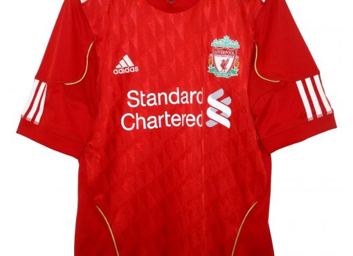 2010-12 Liverpool Home Shirt