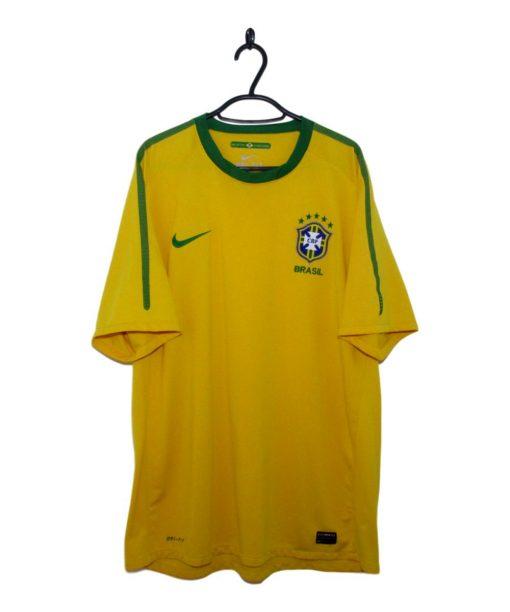 2010-11 Brazil Home Shirt