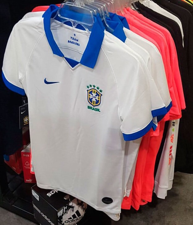 b258be428 Brazil 2019 Copa America Away Shirt Leaked
