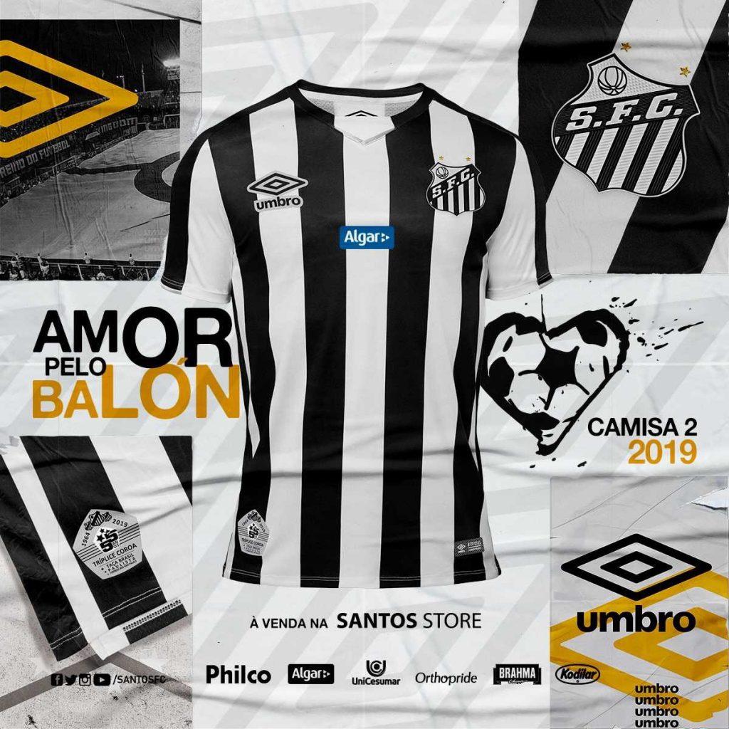 d4c33d9f5 Santos 2019 Umbro Away Kit | The Kitman