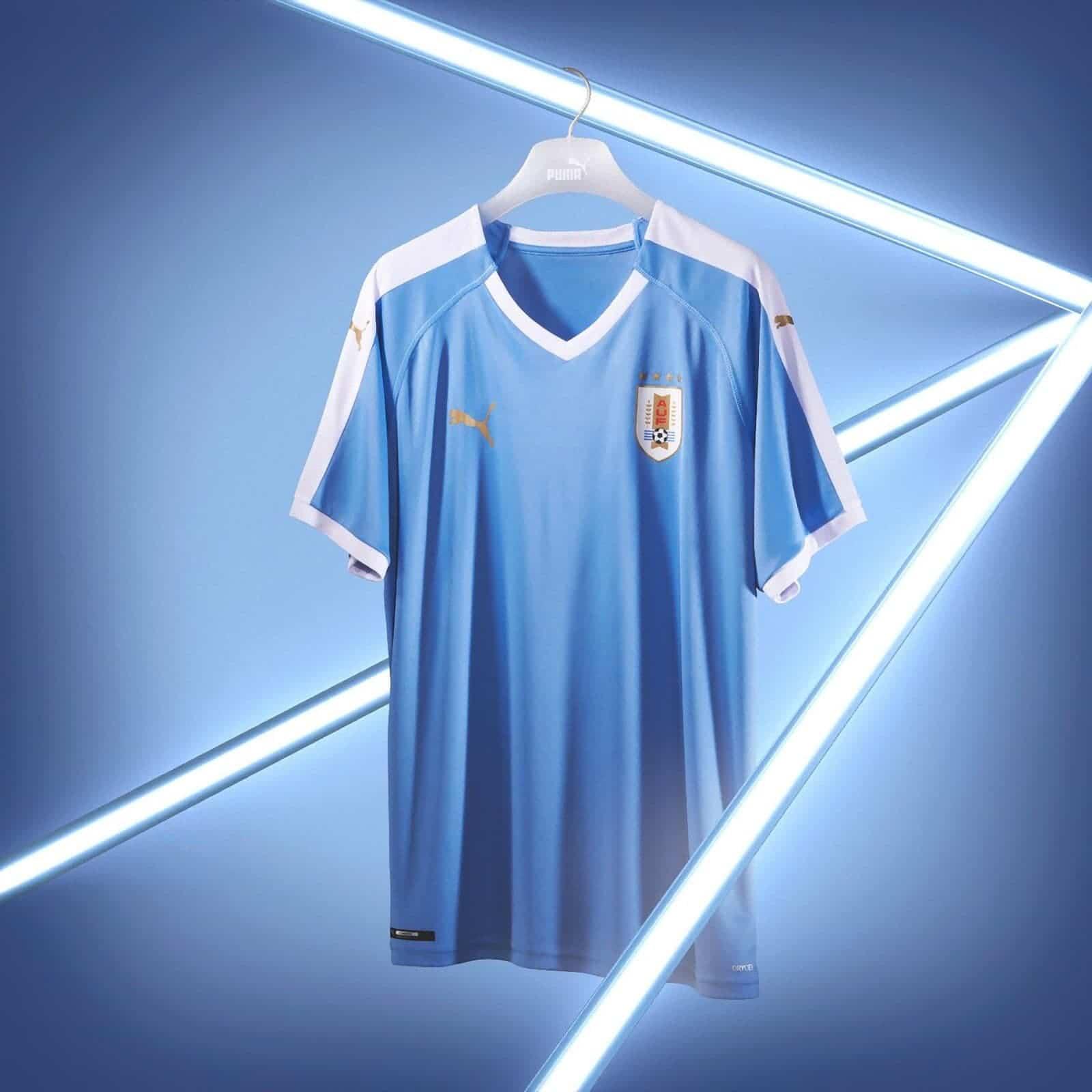 Uruguay 2019 Copa América Puma Kits