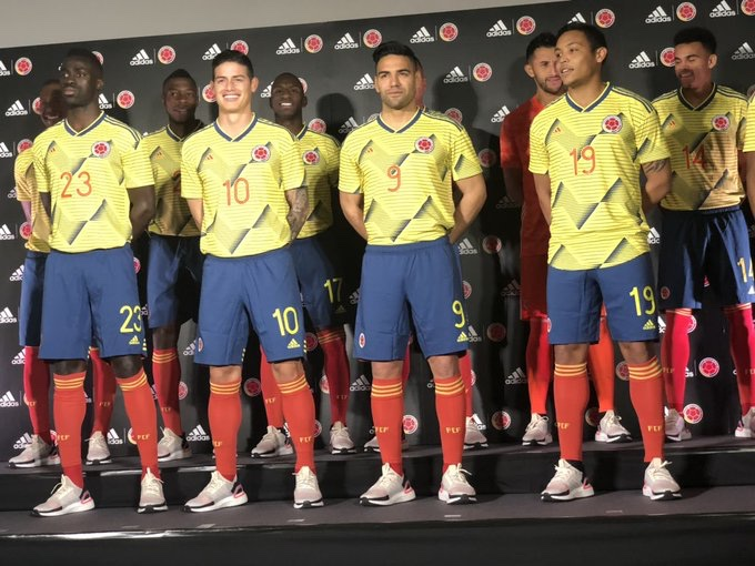 f3d275f82 Colombia 2019 Copa America Kit Revealed
