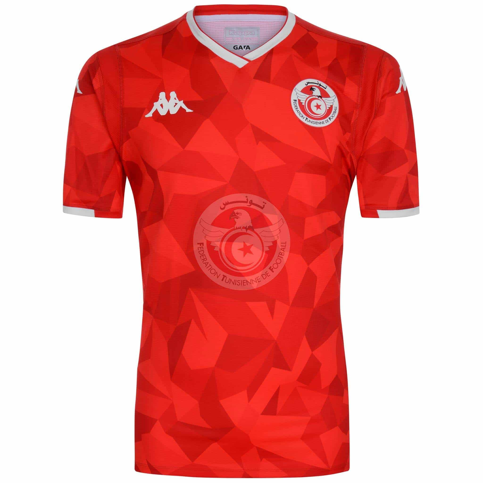 Tunisia 2019 Kappa Home Kit Revealed