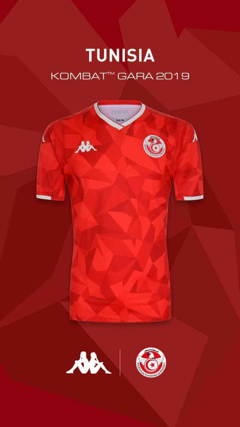 4e0bd539928 Tunisia 2019 Kappa Home Kit Revealed