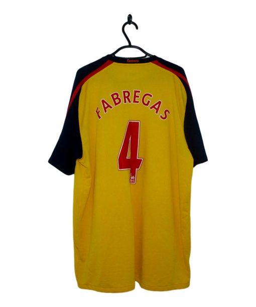 2008-09 Arsenal Away Shirt Fabregas
