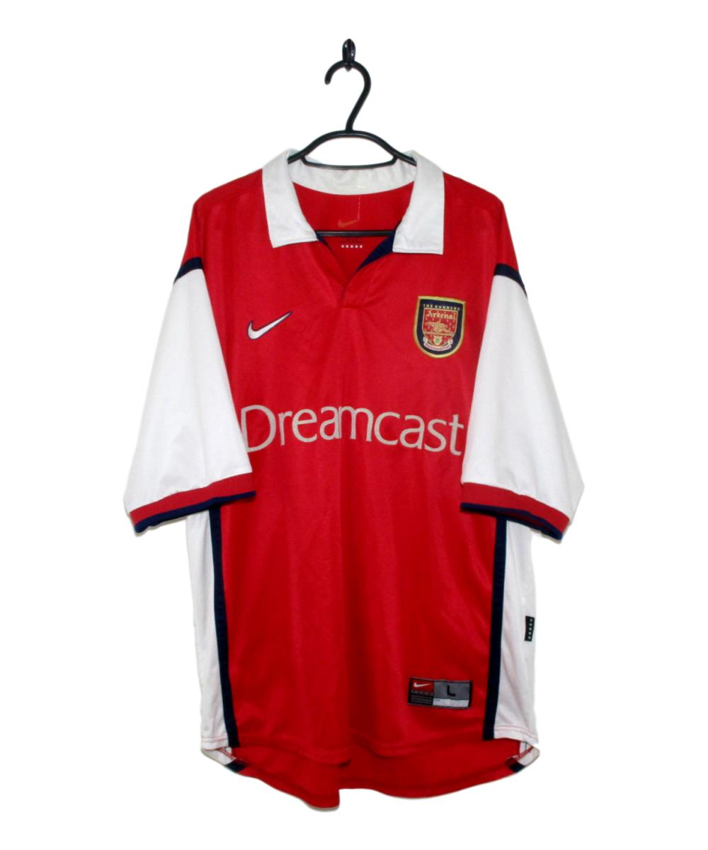41a962379ca 1998-99 Arsenal Home Shirt (L)