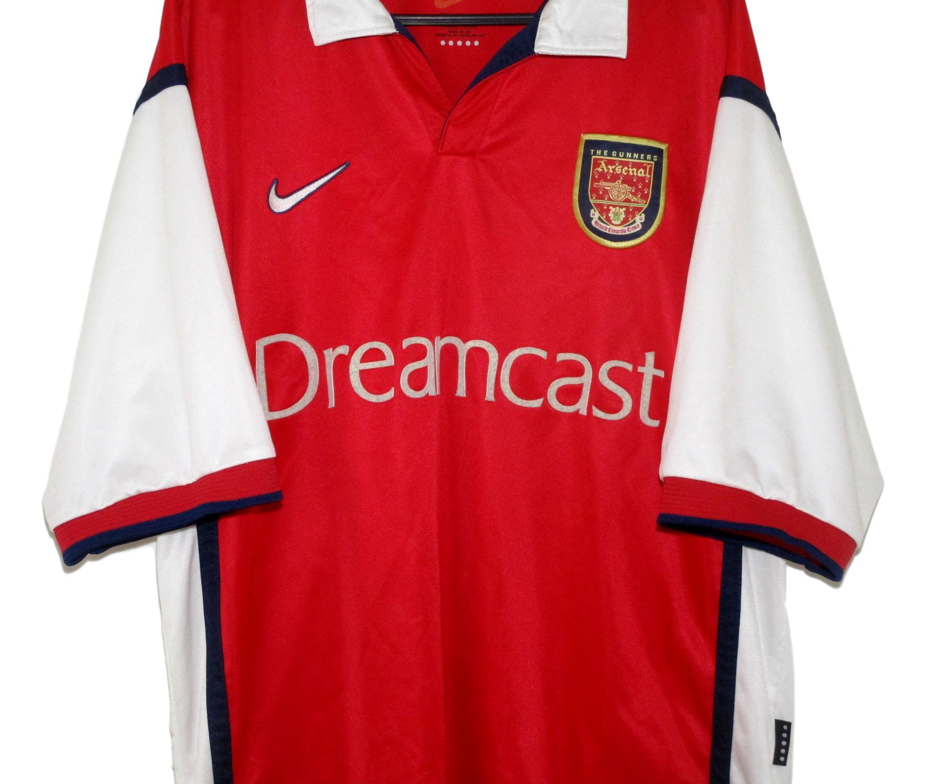 buy popular efedf 4ab85 1998-99 Arsenal Home Shirt (L) | The Kitman Football Shirts