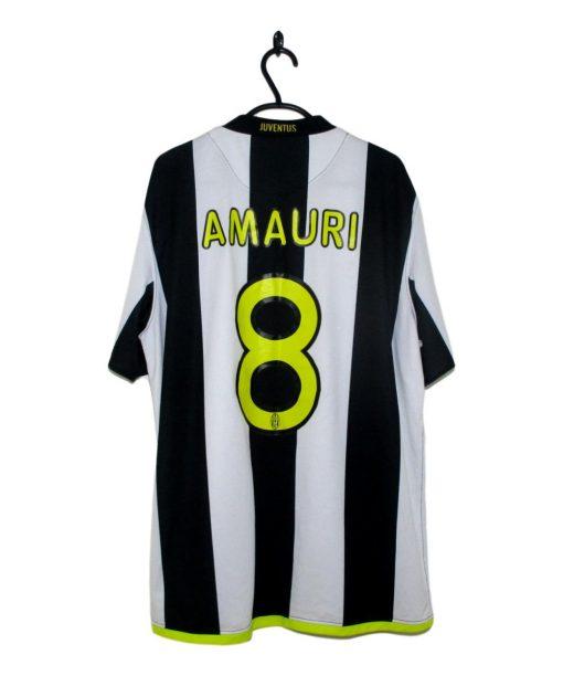 2008-09 Juventus Home Shirt Amauri