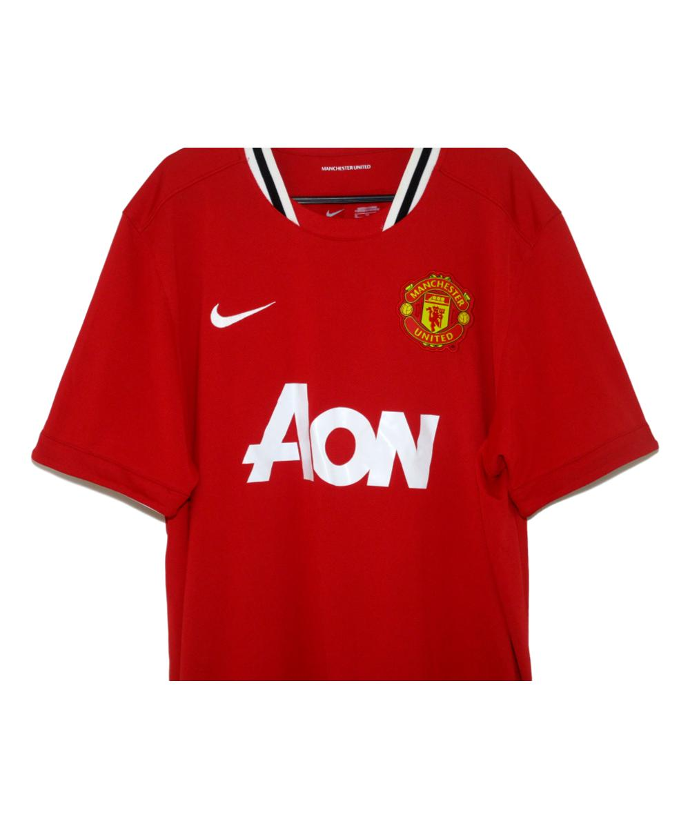 best service 32ae5 fe7d6 2011-12 Manchester United Home Shirt (XL) | The Kitman Football Shirts