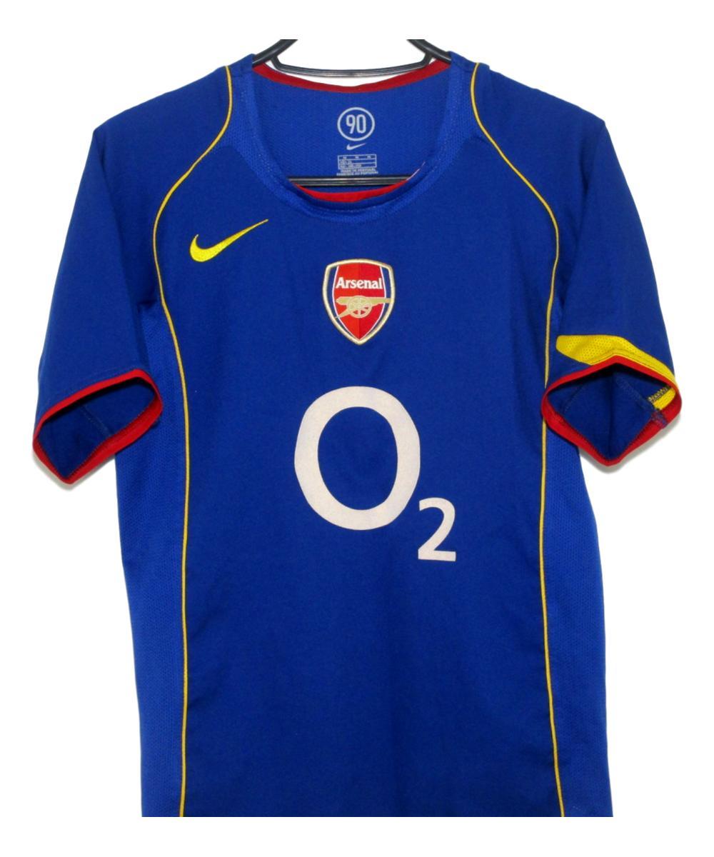 wholesale dealer da8e2 3ea99 2004-05 Arsenal Away Shirt (MB) | The Kitman Football Shirts