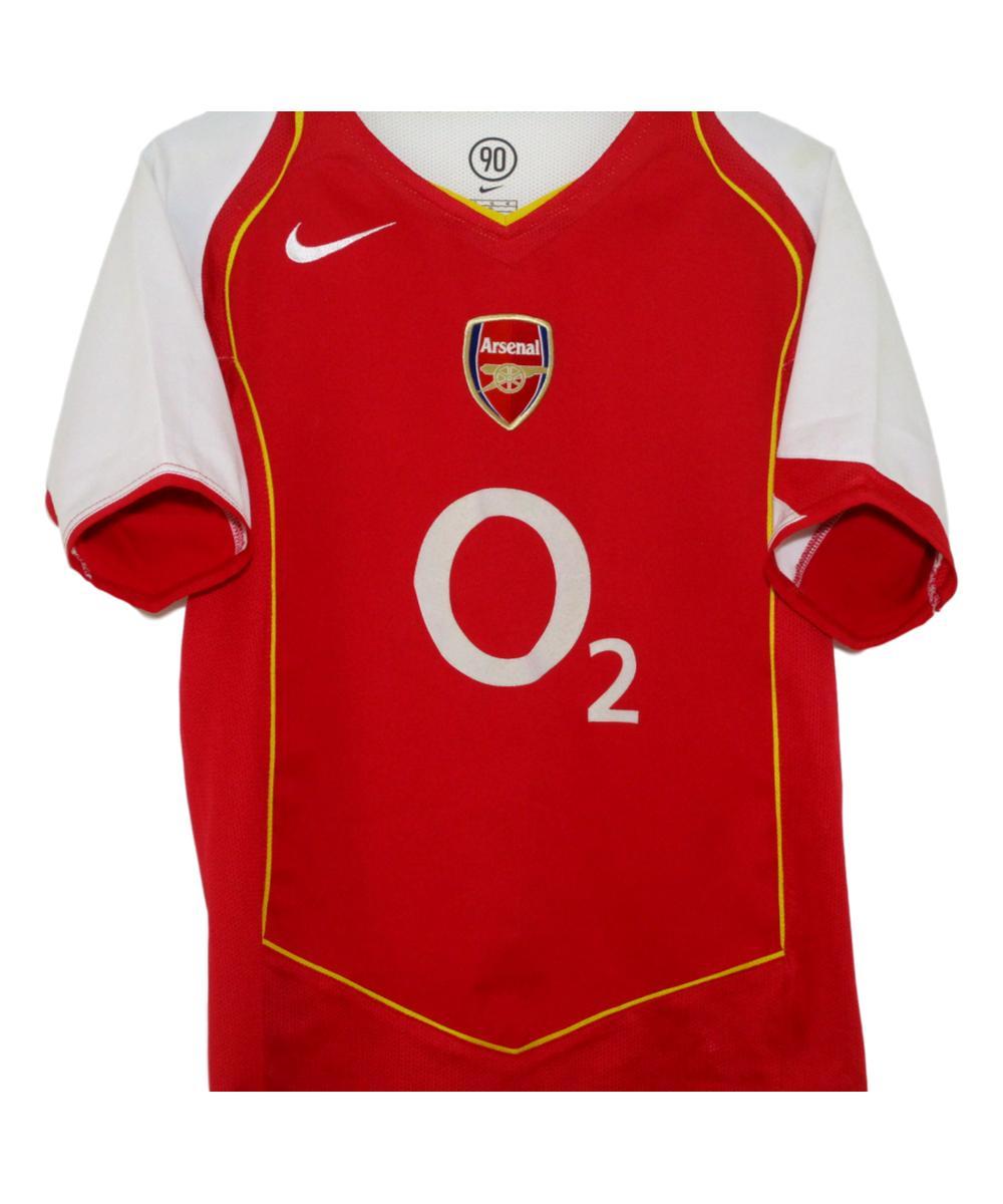 e1bbc53b 2004-05 Arsenal Home Shirt (LB) | The Kitman Football Shirts