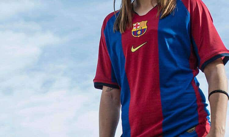 84e7060a927 Nike FC Barcelona 1998-99 Home Shirt Remake