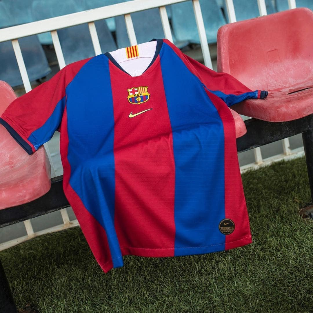 40eaa82a6 Nike FC Barcelona 1998-99 Home Shirt Remake | The Kitman