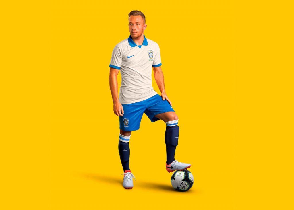 on sale 7fedb f0c70 Brazil 2019-20 Copa America 100th Anniversary Kit | The Kitman