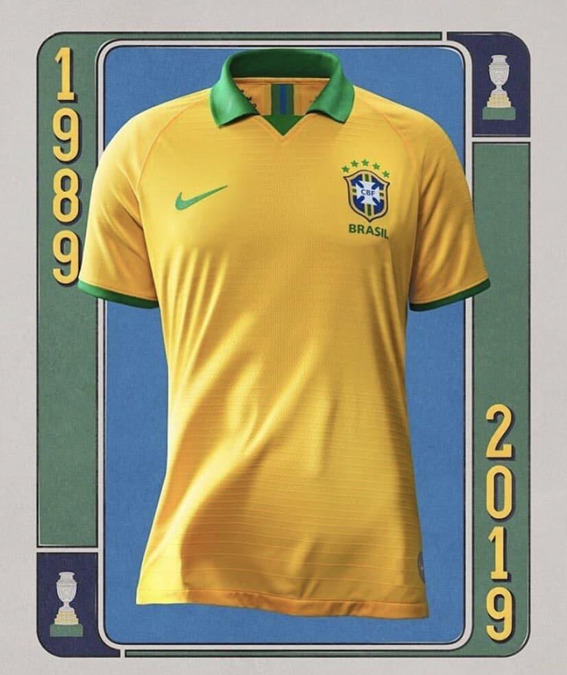 8bf5b191ded Brazil 2019 Copa America Home Kit