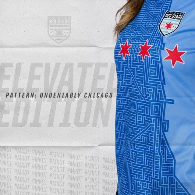Chicago Red Stars 2019 Home Kit