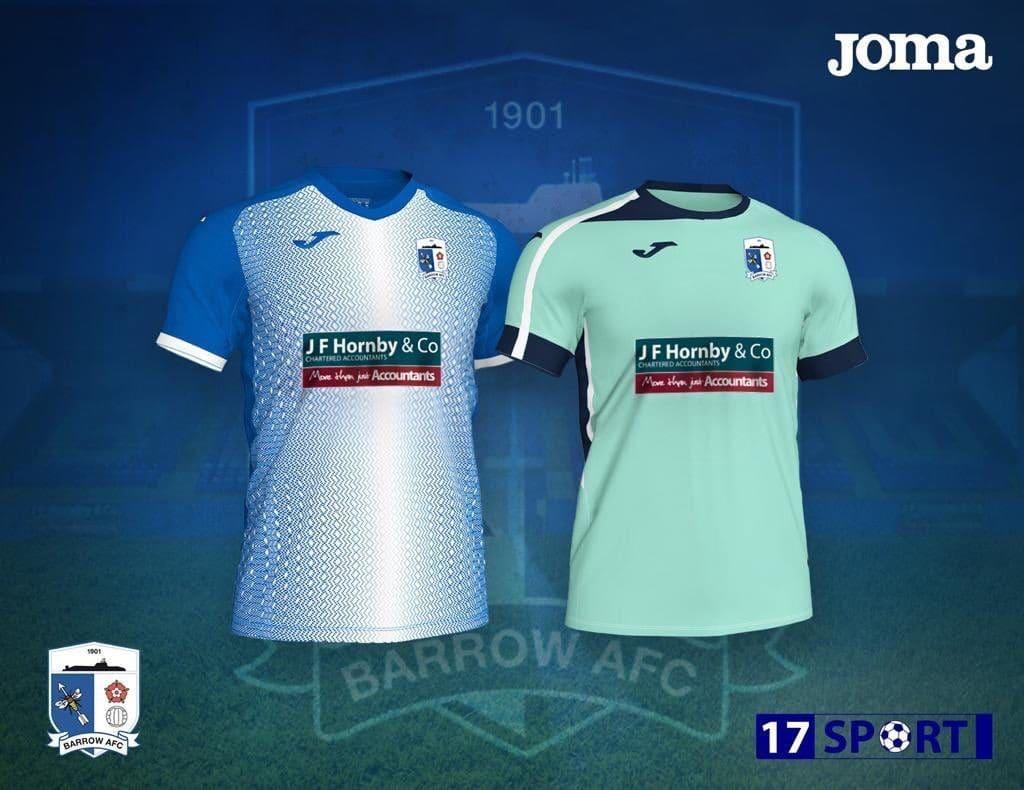 21b568655 Barrow AFC 2019-20 Kits Revealed