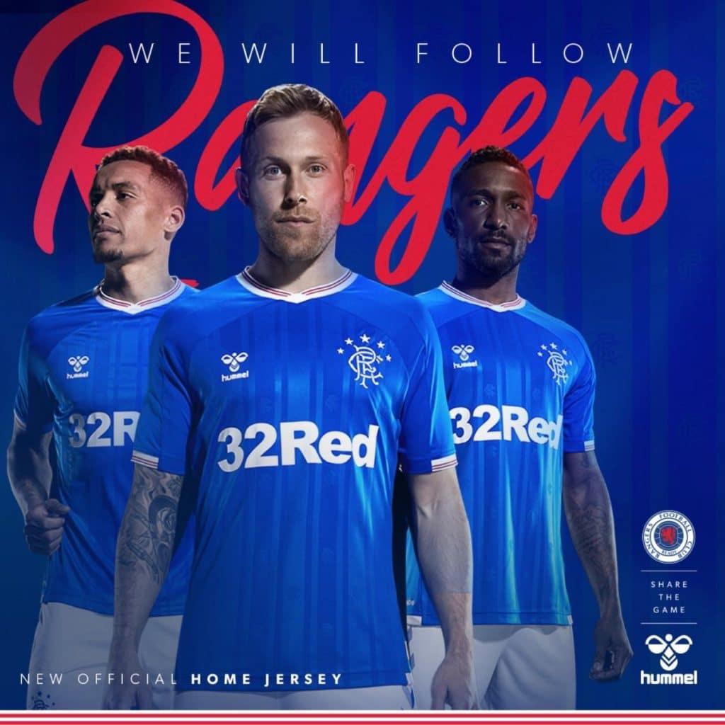 de3d3e889 Rangers FC 2019-20 Home Kit Released