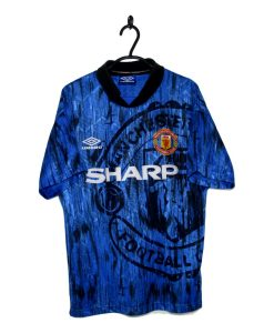 7ba38efbc 1992-93 Manchester United Away Shirt