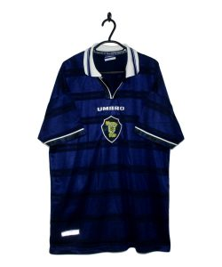 0255a7734 1998-00 Scotland Home Shirt