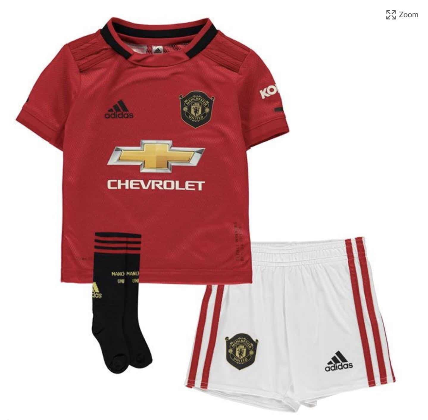 1ef3bcaea Manchester United 2019-20 Home Kit Leaked By Sports Direct
