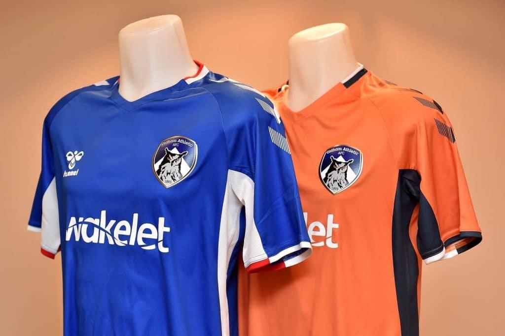 e98c0acec Oldham Athletic 2019-20 Hummel Kits