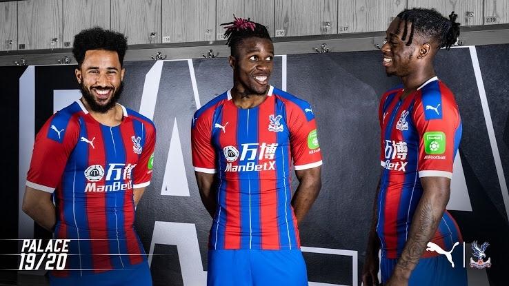 Crystal Palace 2019-20 Puma Home Kit