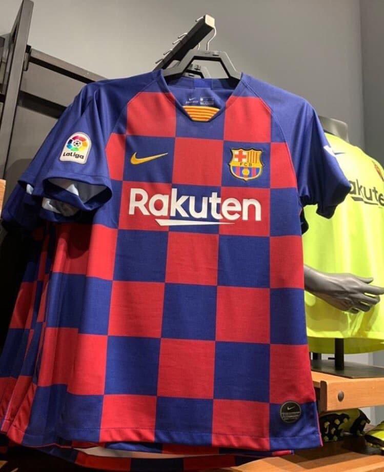 65dbc9d46 FC Barcelona 2019-20 Home Shirt Leaked
