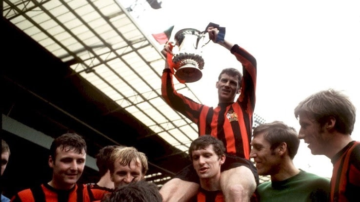 Manchester City 1969 FA Cup Final Tribute Pre Match Shirt