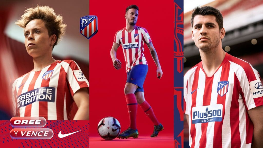 e09ec525a Atlético Madrid 2019-20 Nike Home Kit | The Kitman