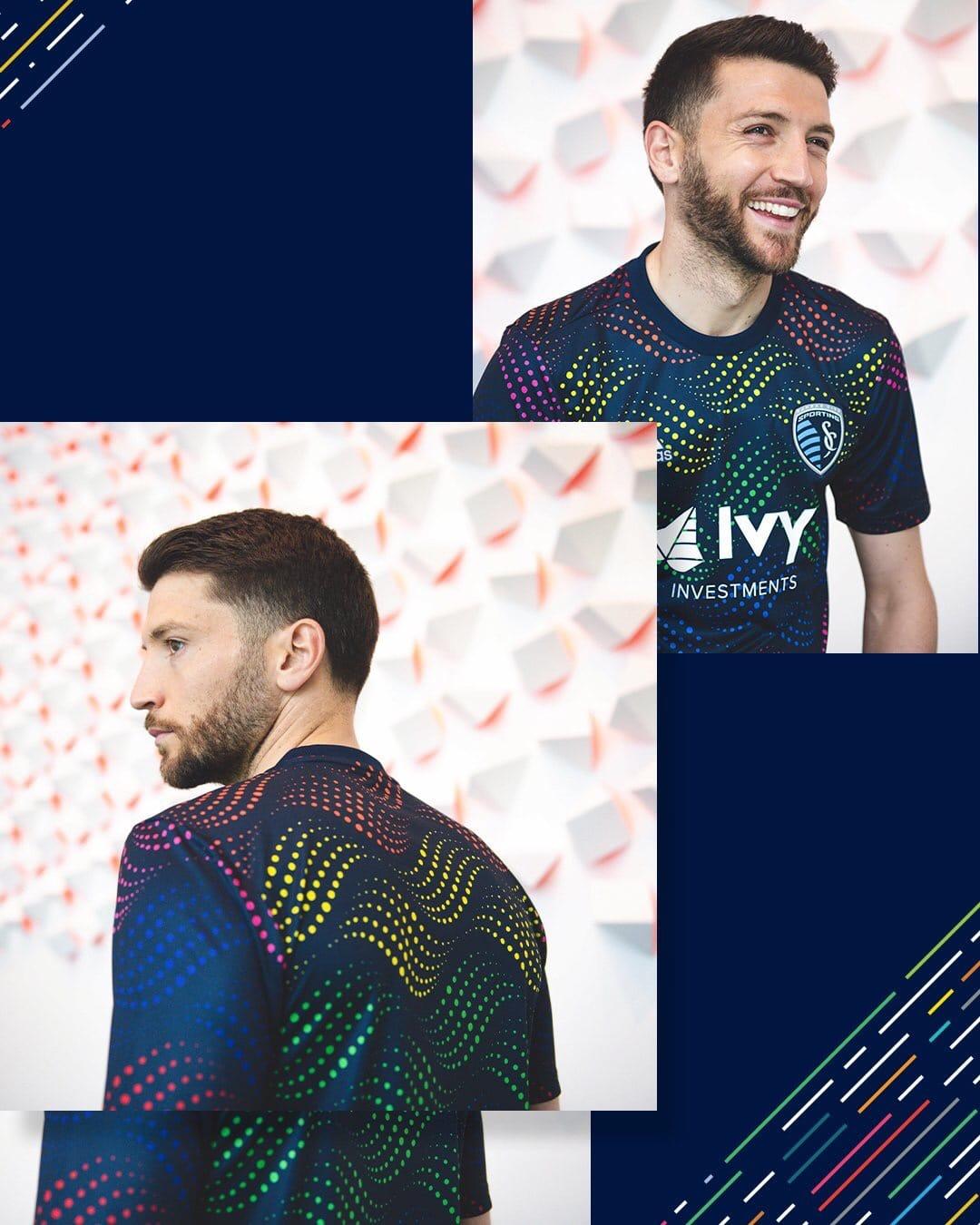 Sporting KC 2019 Pride Jersey