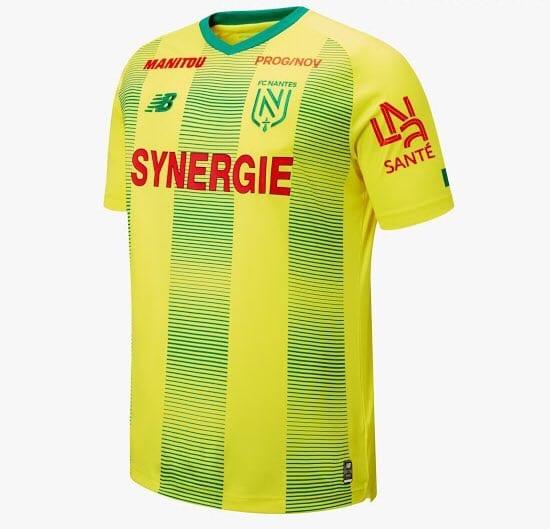 Nantes 2019-20 Home Kit & New Logo