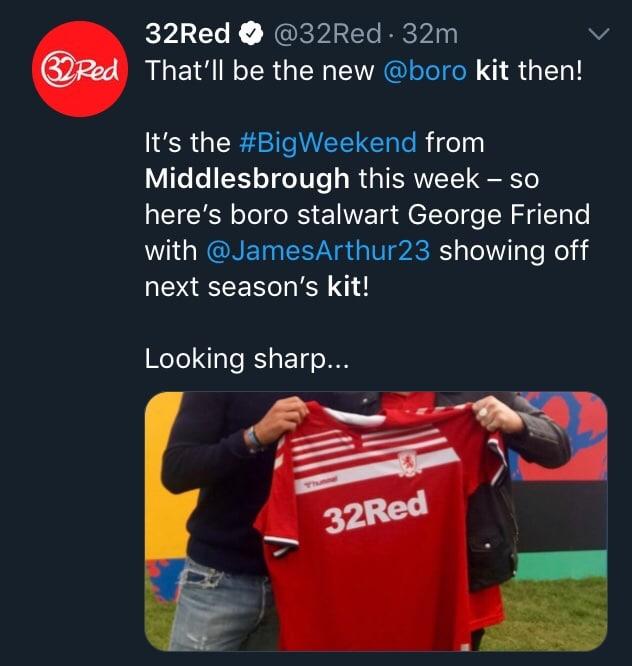 Middlesbrough 2019-20 Hummel Home Shirt Leaked