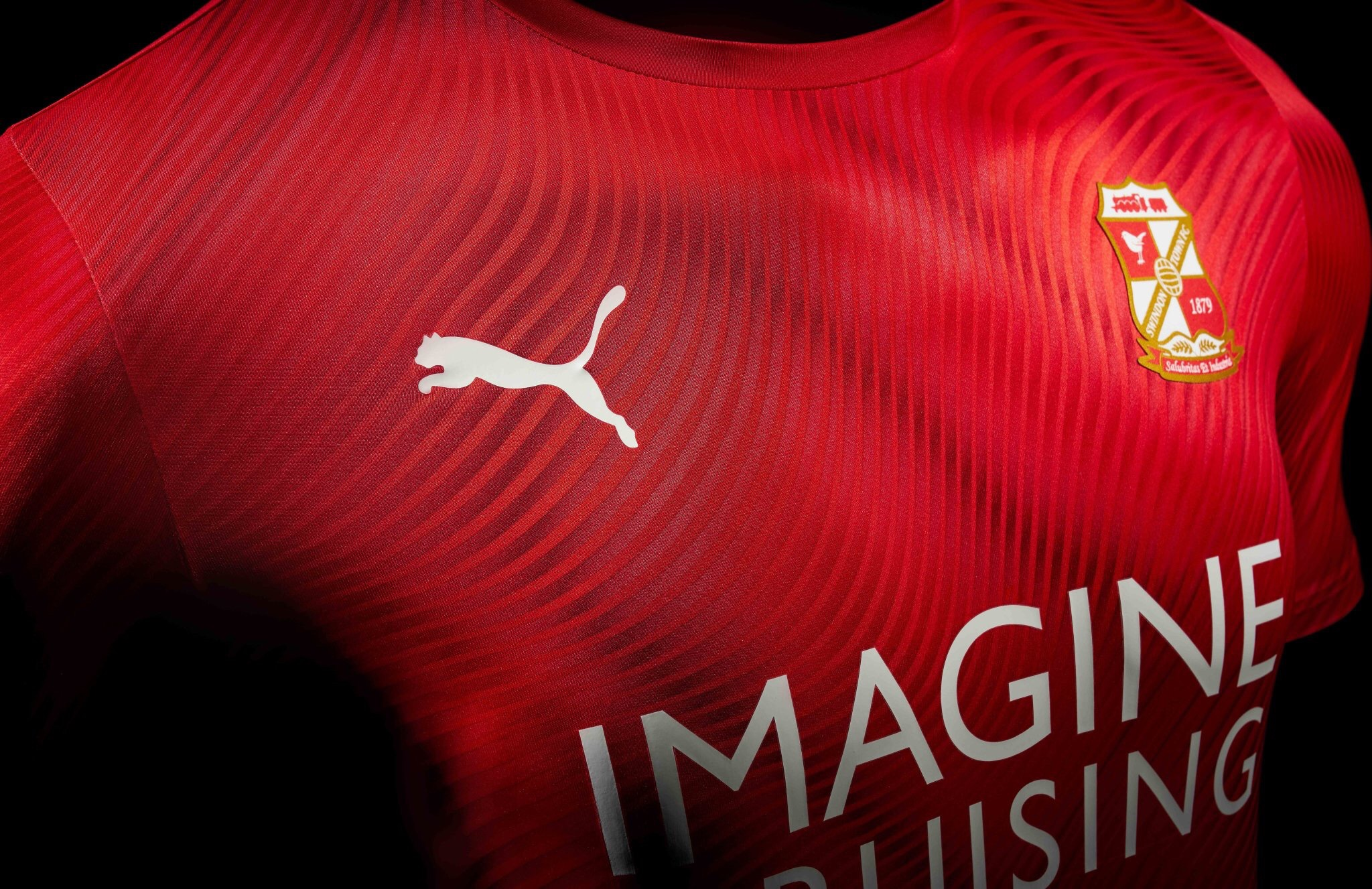Puma 2019-20 Swindon Town Home Kit