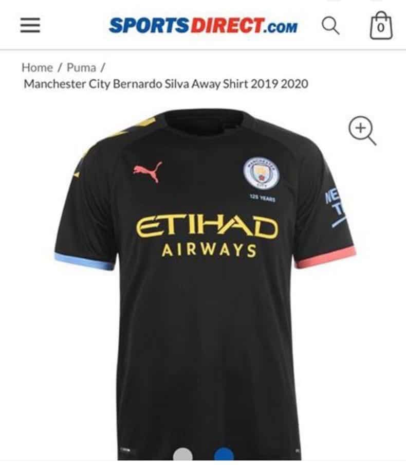 new products 28ec4 c8f27 Manchester City Away Shirt 2019-20 Leaked | The Kitman