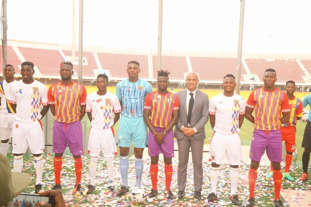 hearts of oak umbro jersey